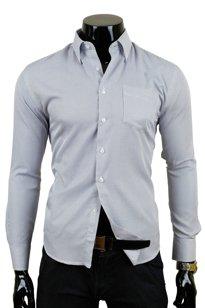 SEDNA 65 Czarna kratka   Koszule codzienne Koszule  M3SeQ