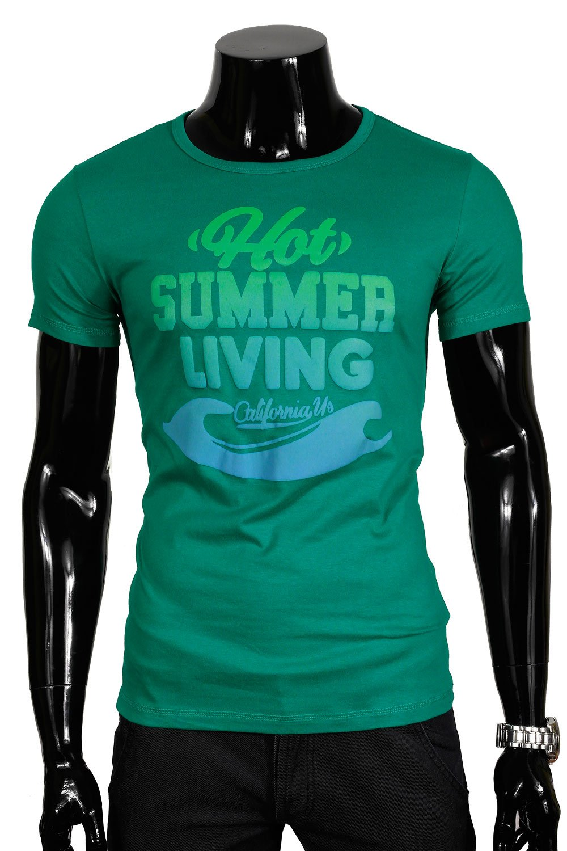 50f4f46494 T-shirt GS80 zielony ...